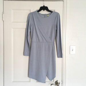 Gianni Bini - Blue Faux Wrap Dress